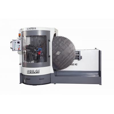 DTEB-2500 CNC DAİRE TESTERE YAN BİLEME  (Egalize ) MAKİNESİ